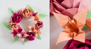 origami facile une fleur de cerisier prima