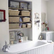bathroom built in storage ideas 20 neat and functional bathtub surround storage ideas 2017