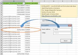 tutorial para usar vlookup usar buscarv en formulario de excel vba e identificar texto números