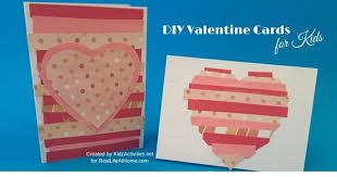 valentines cards for kids diy cards for kids
