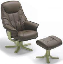 fabric swivel recliner chairs buy elano globe fabric swivel recliner chair cfs uk