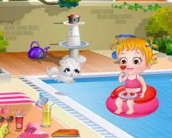 Baby Hazel Room Games - baby hazel summer fun