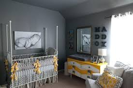 Yellow And Gray Nursery Decor Grey Yellow Nursery Decor Baby Epic Nuance Unique Room Decoration