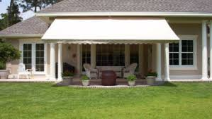 Retractable Awning For Deck Good Deck And Patio Awning Without Legs And White Wood Fence In