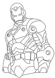 heroes iron man coloring lols iron