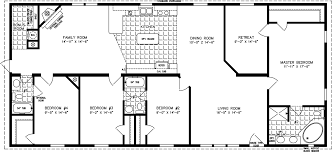 4 Bedroom 2 Bath Mobile Homes Plain Ideas 4 Bedroom Mobile Homes Modular Home Plans 4 Bedrooms