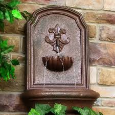 best outdoor wall water fountains build concrete outdoor wall