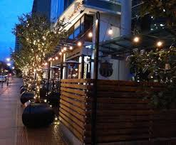 Vancouver Restaurants With Patios Greenscape Design Olive Tree Restaurant Patio Decor Fall 2015