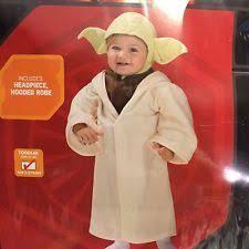 Yoda Halloween Costume Toddler Halloween Disney Rubie U0027s 510147 Star Wars Yoda Child Costume