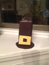 Pilgrim Hats Out Of Construction Paper - turkey goldfish pilgrim hat juice boxes for preschool