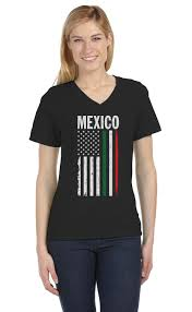 this is a picture of the mexican and the american flag combined