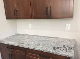 shiplap kitchen backsplash with cabinets diy shiplap backsplash home defined