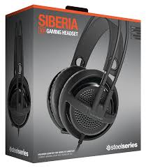 amazon com steelseries siberia v3 gaming headset electronics