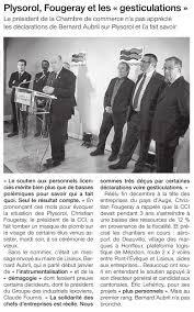 chambre de commerce lisieux ouest lisieux article du 13 01 2010 plysorol fougeray
