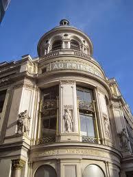 architect design paris from above printemps department store