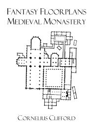 medieval monastery fantasy floorplans dreamworlds rpgnow com