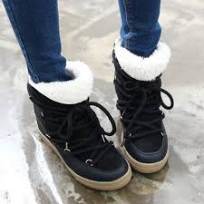 s winter boot sale shop smile circle 2017 winter shoes for lace up wedge