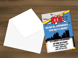 graphic design birthday invitations super hero birthday party invitation super hero birthday party