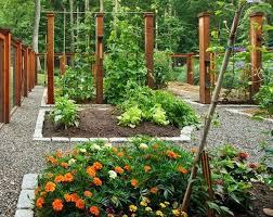 vegetable garden design ideas raised beds garden fence 5 vertical