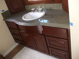 bathroom bath countertops with sinks open shelf vanity bathroom
