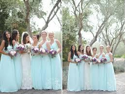 mint blue bridesmaid dresses frey photography santa barbara wedding joanna august