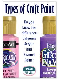what type of paint do you need for kitchen cabinets craft paint finding the right type createforless