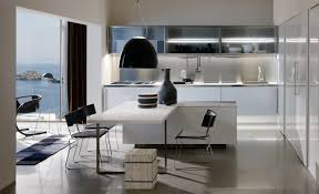 white kitchen with colored island decobizz popular kitchen designs