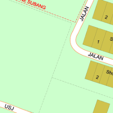map usj 1 map of jalan industri usj 1 1