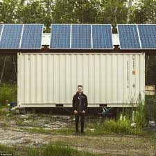 joseph dupuis built shipping container home puts it up for sale