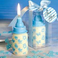 baby bottle candle favors baby shower wedding favors party gifts