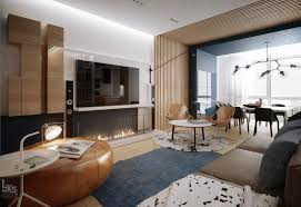 home apartments cool studio apartment with modern furniture with