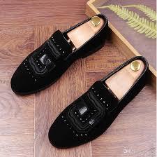 wedding shoes europe 2017 new arrival men s velvet loafers party wedding shoes europe