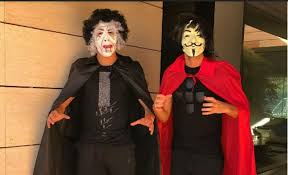 ronaldo and others sport celebrities celebrate halloween in style