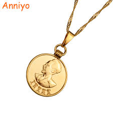 aliexpress buy nyuk new fashion american style gold online buy wholesale gold money necklace from china gold money