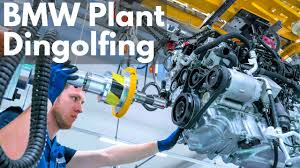 bmw factory bmw plant dingolfing youtube