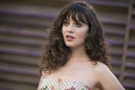 short curly hairstyles with straight bangs women medium haircut