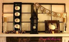 thanksgiving mantel displays in seasonal decor hometalk
