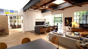 houzz tv step inside an industrial chic forever home