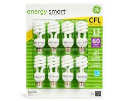 ge energy smart cfl light bulbs 13 watt 60w equivalent boxed com ge energy smart spiral light bulbs 8 x 13 watt bulbs