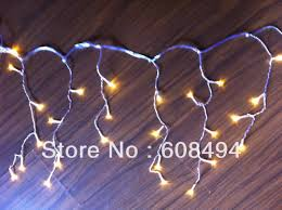 snowing icicle outdoor lights 200led 5m curtain icicle lights christmas garden l xmas wedding