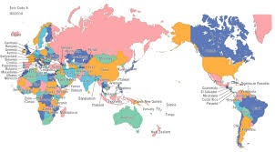 China World Map by World Map