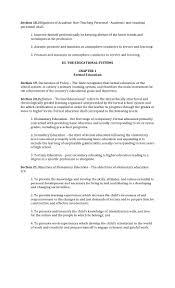 Batas Pambansa Blg 232 Education Act Of 1982
