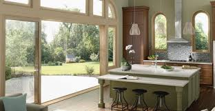 Bifold Patio Door by Bi Fold Glass Walls Moving Glass Wall Systems Milgard Windows