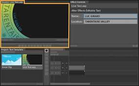 tutorial after effect membuat opening film how to use live text templates from after effects in premiere pro