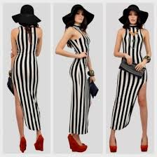 black and white striped maxi dress target 2016 2017 b2b fashion