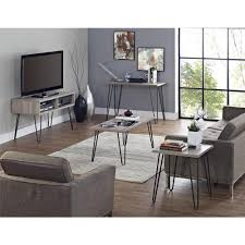Sofa Desk Table by Altra Furniture Owen Retro Sonoma Oak End Table 5068196pcom The