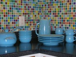 Limestone Kitchen Backsplash Ideas Latest Kitchen Ideas - Colorful backsplash tiles