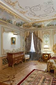 Baroque Ceiling by Magnificent Bedroom In The Baroque Style Studio Decor Park Zodchy