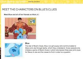 blue from blue s clues is actually a total