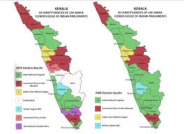 Kerala India Map by Out Caste Cast Out Caste